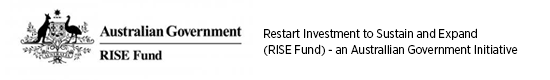 Australian government: RISE fund logo